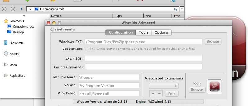 Easily Run Windows Applications on Mac OS X