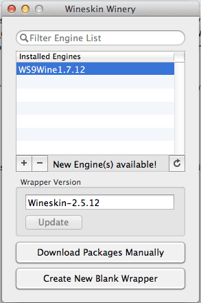 wineskin-main-interface