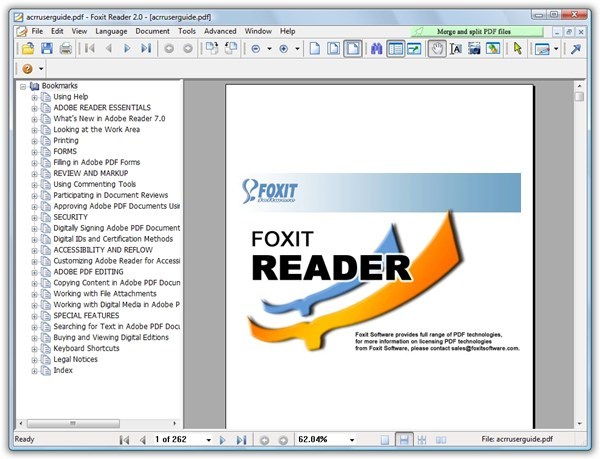 Free PDF Convert - Foxit