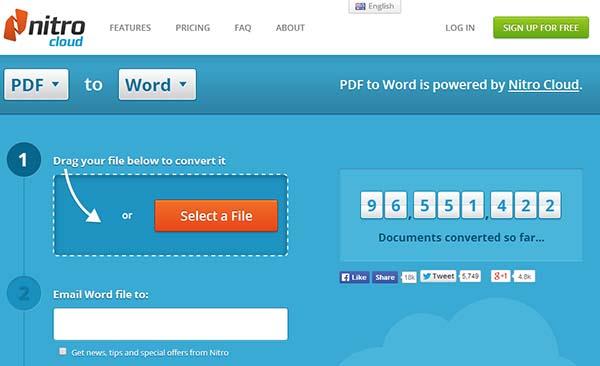 Free PDF Convert - PDF to Word