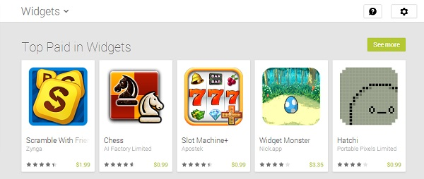 NavigateGooglePlay-Game-Widgets