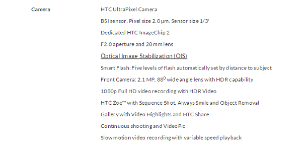 PhoneSpecs-Camera