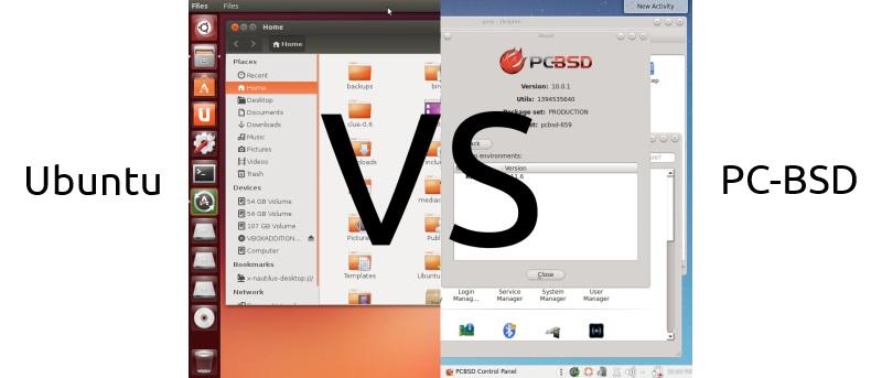 PC-BSD vs. Ubuntu