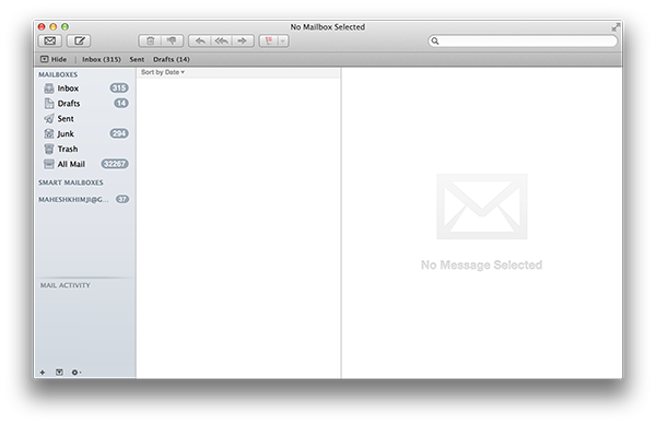 best email clients for mac - applemail