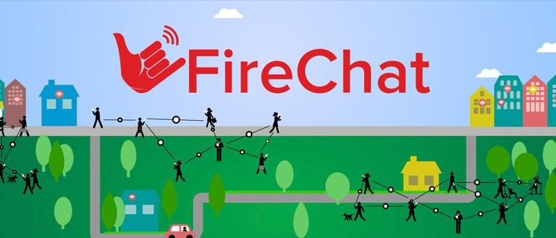 FireChat: An Instant Messaging App That Don't Need Internet