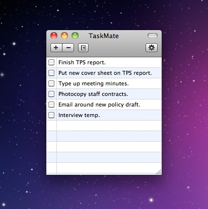 To-do lists for mac - taskmate