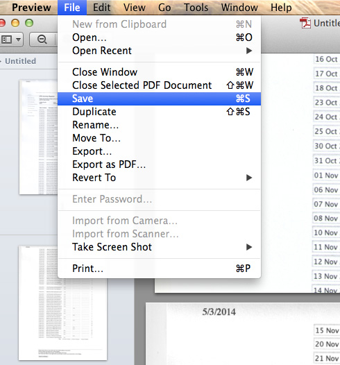 How to Easily Combine Two Scanned Documents Into One in OS X ...