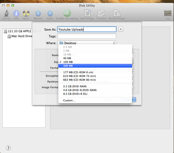 Dynamic-Resizable-Disk-Mac-Image-Size