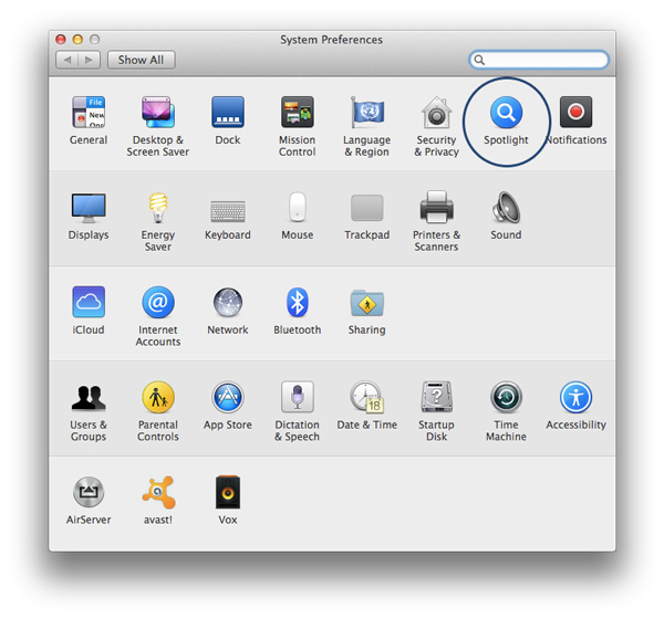 Low-Hard-Disk-Space-Spotlight-System-Preferences