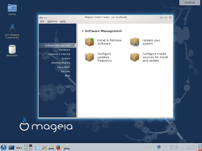 Mageia software management