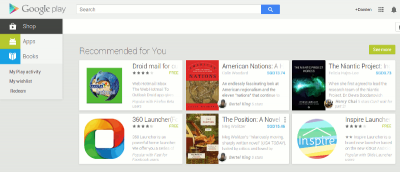 How to Navigate and Use Google Play in a Web Browser