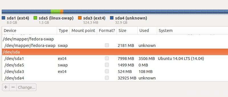 How to Dual Boot Ubuntu and Fedora