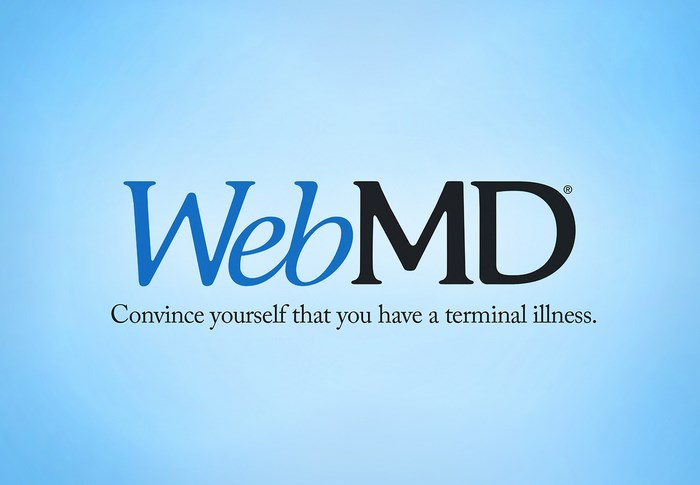 HonestSlogans-WebMD-Discover-diseases-you-dont-have
