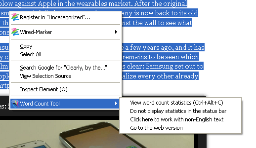 word-count-tool-context-menu