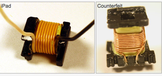 Counterfeit-iPad-Chargers-Voltage-Comparison