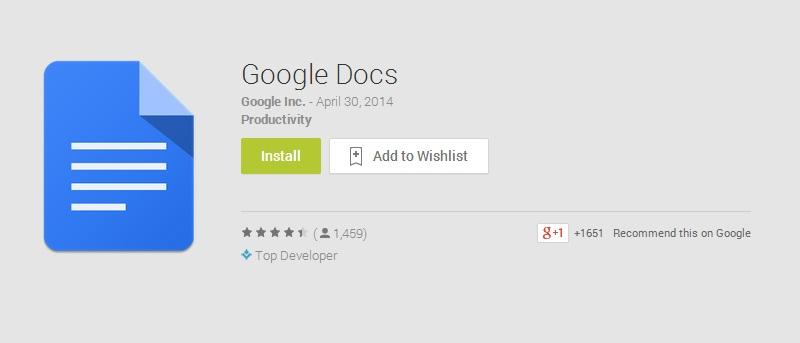 Dedicated Google Docs and Sheets Apps Have Come To Android – Here's How They Work