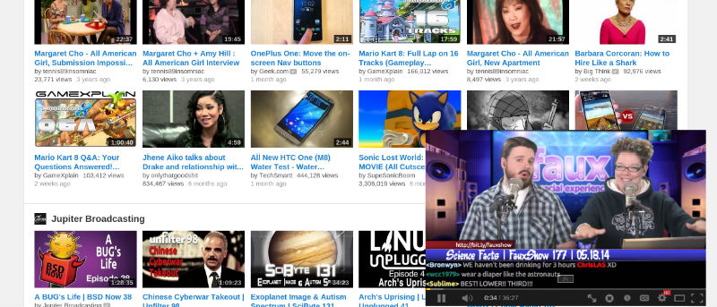 Watch YouTube Video With Android-Style Multitasking [Chrome]