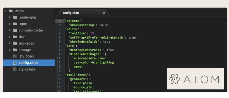 Hands-on with Github's Atom Text Editor