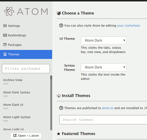atom-themes
