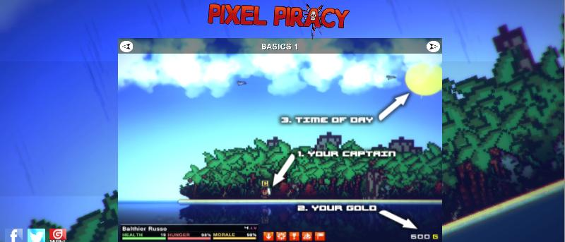 Pixel Piracy Review – A Great Pirate Game in the Making