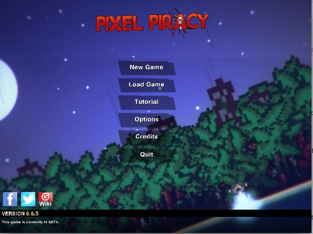 pixel-piracy-main-screen