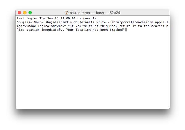 Add-Text-Login-Screen-Mac-Enter-Text-Terminal