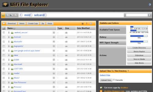AndroidTransferFiles-WiFi-File-Explorer