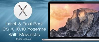 Dual Boot OS X Yosemite And Mavericks On Mac
