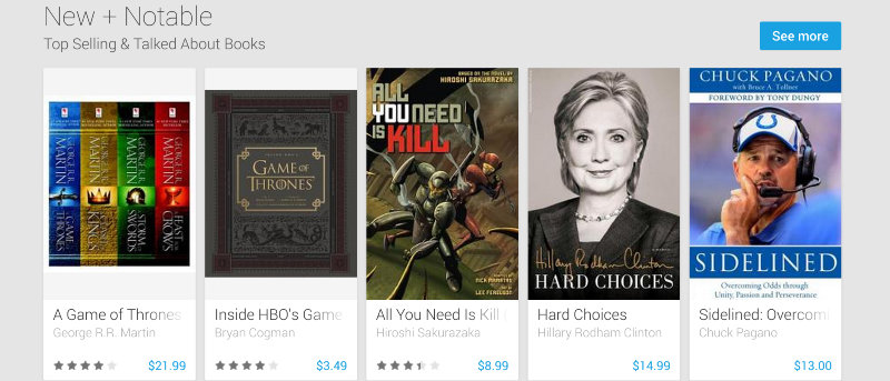 Alternatives to Google Play for Books, Movies, And Music for Android