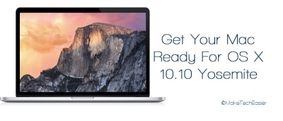 Prepare Your Mac For OS X 10.10 Yosemite Upgrade