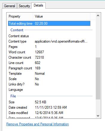 Office-Document-Properties