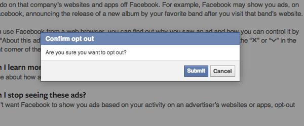 Opt-Out-FB-Ads-Confirmation