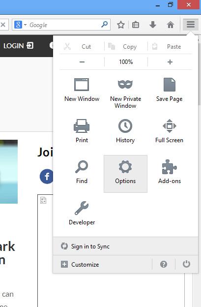 Pop-Up-Windows-Firefox-Options