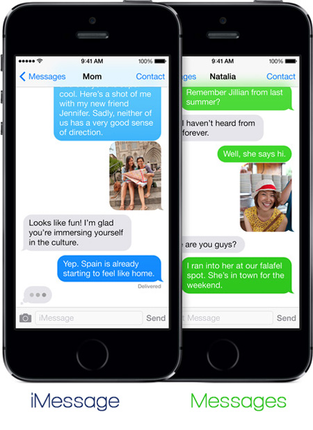 Report-Spam-iMessage-Difference