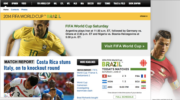 Watch-World-Cup-Live-CBC-Website