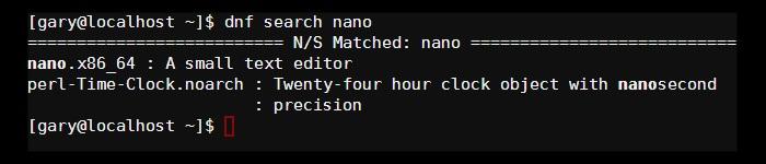dnf-search-nano