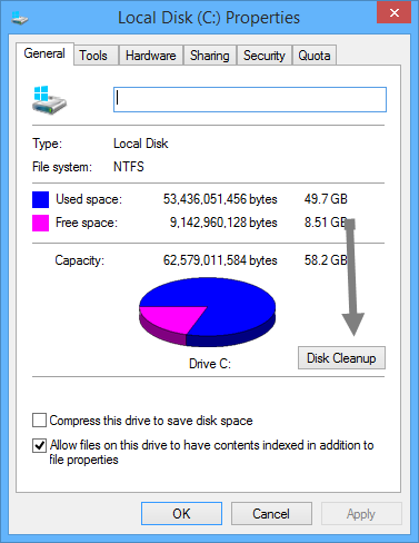 free-disk-space-c-drive-properties