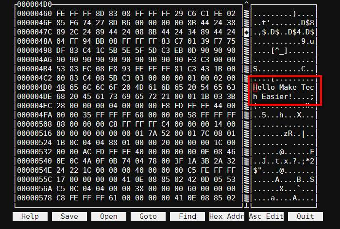 Using a Hex Editor on Linux - Make Tech Easier
