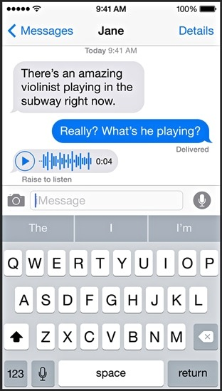 iOS8-Message-Voice