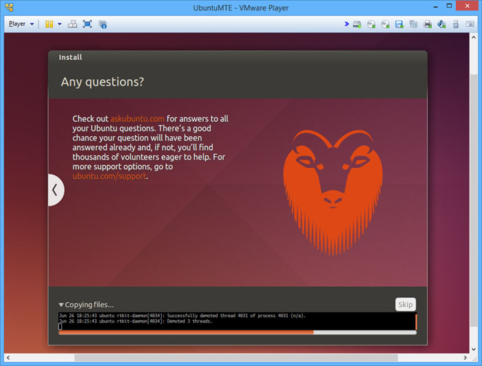 vmware-player-ubuntu-installing