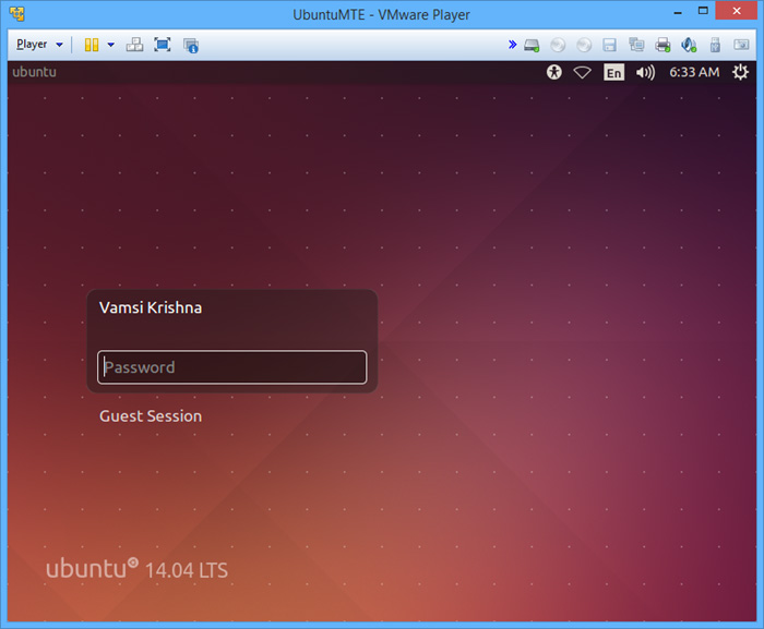 vmware-player-ubuntu-login-screen