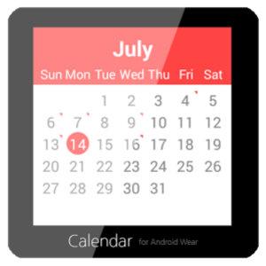 AndroidWearApps-Calendar