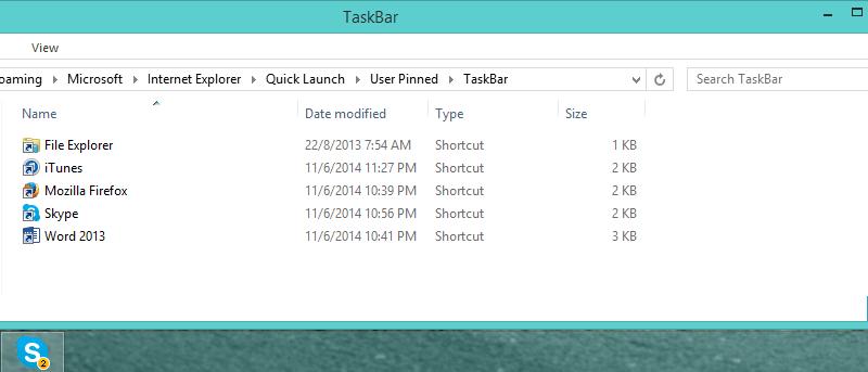 Fix Duplicate Icons on Your Windows 7/8/8.1 Taskbar