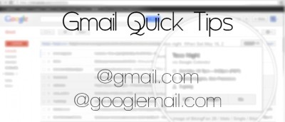Quick Tips: Use Your Two Gmail Addresses Efficiently