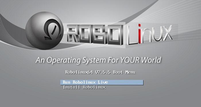 RoboLinux-bootmenu