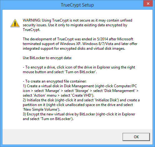 TrueCrypt-alternatives-truecrypt-warning-message