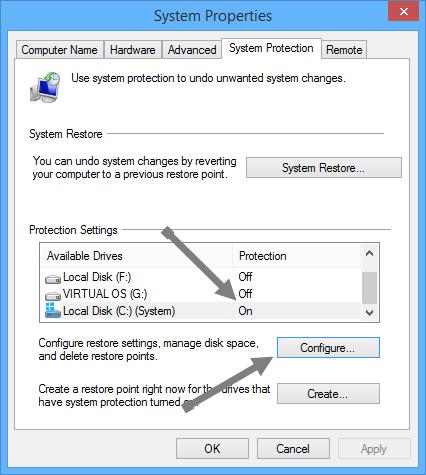configure-system-restore-configure