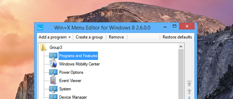 Easily Edit the Win + X Menu in Windows 8 to Increase Your Productivity