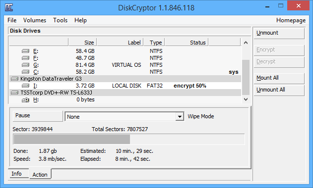 encrypt-partitions-using-diskcryptor-encryption-status