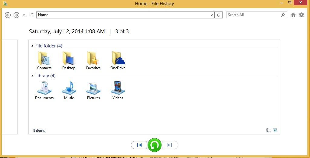 filehistoryrecover-filerecovering